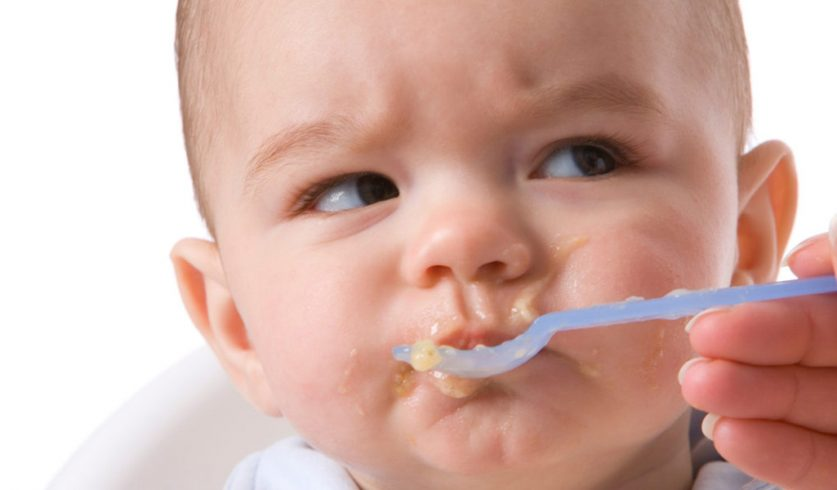 Ağzınızdaki Bakteriler Çocuk Mamasına Bulaşmasın!
