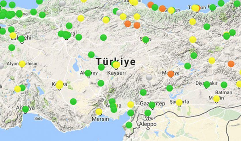 Türkiye'deki Hava Kirliliğinin Geldiği Son Nokta