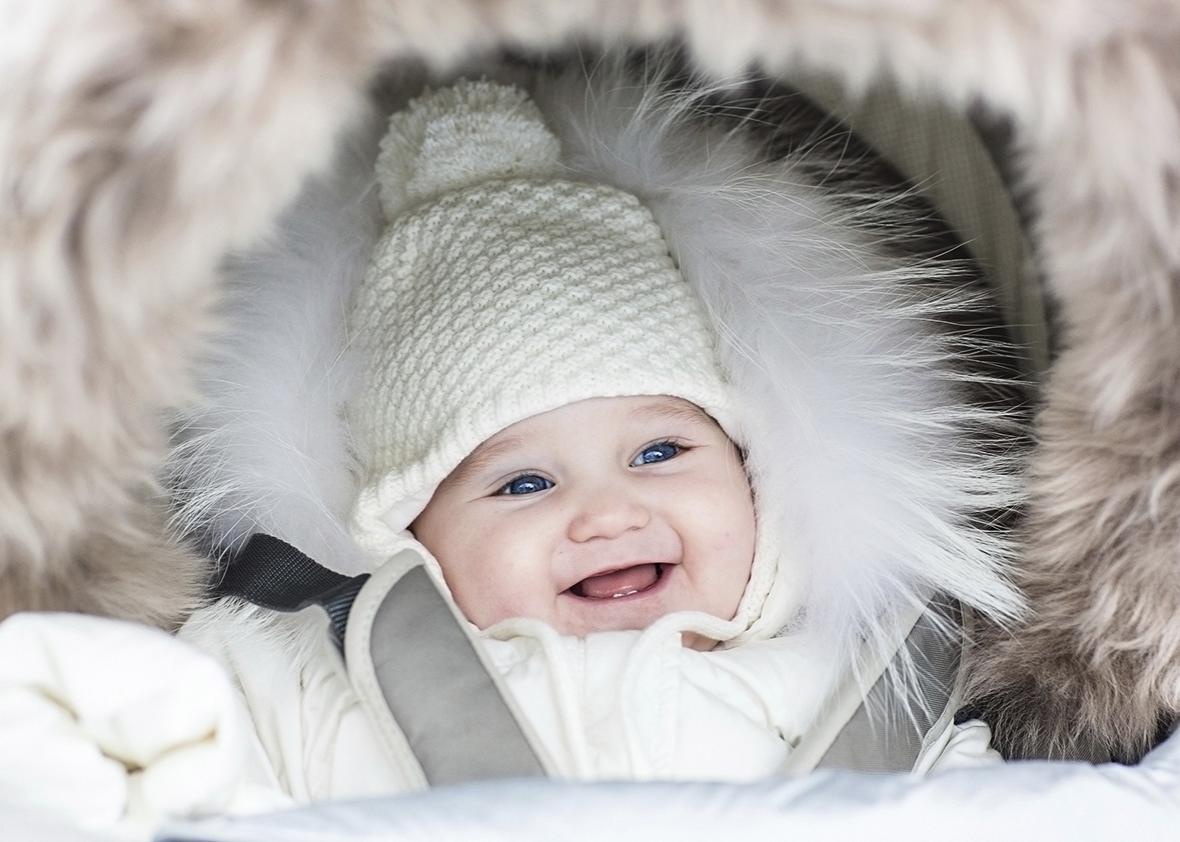 Kış aylarında doğan bebekler daha